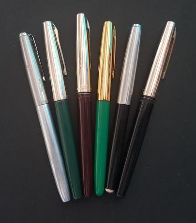 Lot stilouri vechi chinezesti funcționale 6 bucati