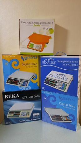 Весы электронные Beka ACS AR007A новые для магазинов Оригинал