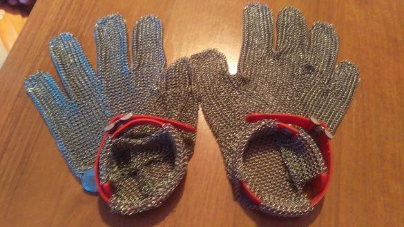 Метални ръкавици за транжори