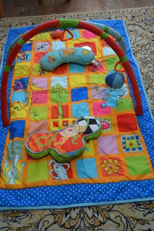 Детский коврик развивающий