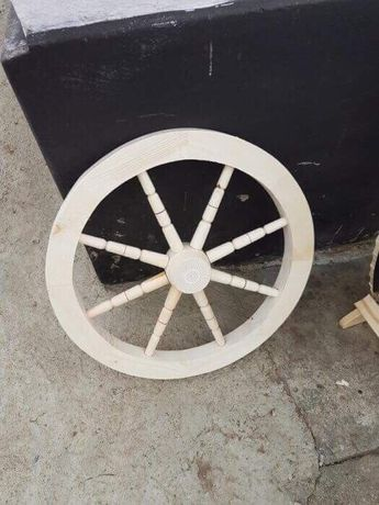 Roata lemn - roti lemn - roata rustica