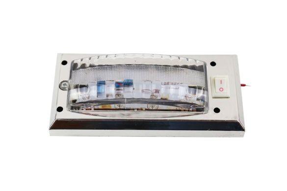 Интериорна Лампа 8 LED Плафон за Кола Бус Каравана Кемпер Камион 12V