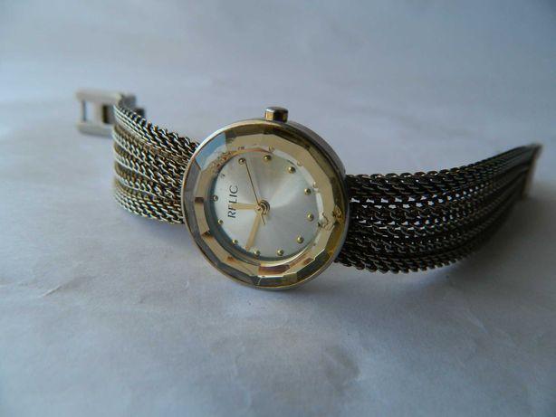 Ceas de dama RELIC (by Fossil) , curea impletitat din otel ,cod r5
