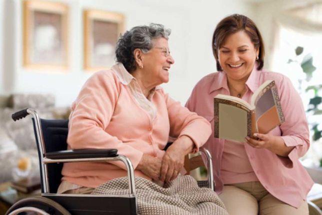 Ищу работу сиделки, за пожилыми людьми.