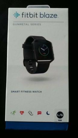 Ceas Smartwatch Fitness Fitbit Blaze, Gunmetal,, Negru