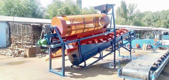 Промывочный спиральный классификатор пескомойка до 40 т/час