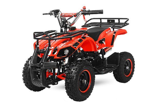 ATV electrica Eco Torino 800W 36V cu 3 Trepte de Viteza #RED