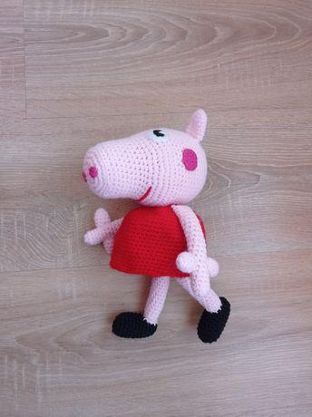 Ръчно изработена играчка Пепа пиг