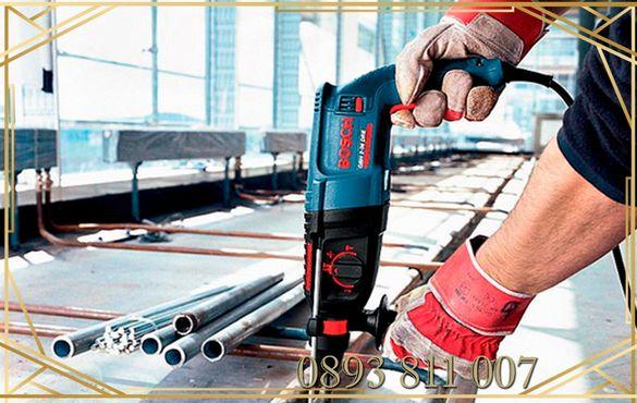 BOSCH оригинален Мощен 800 W ударен перфоратор с три функции GB GBH 2-