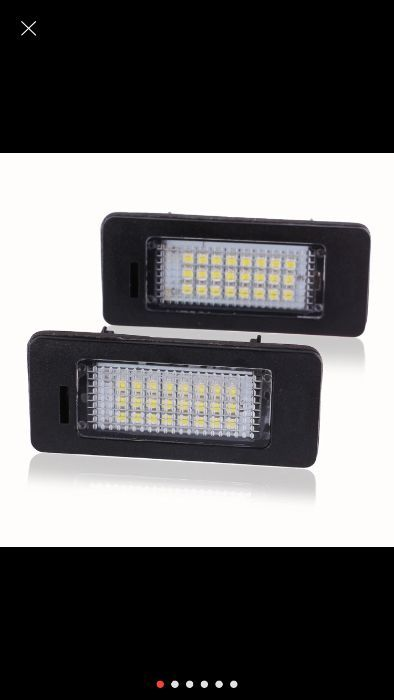 Lampi numar canbus,18 leduri, 6000k, Audi A4 B8, A5, Q5, TT, Passat B7