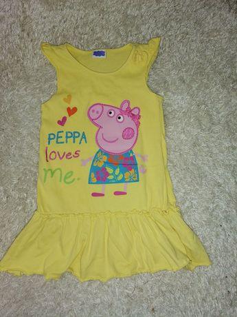 Lot haine de vara,Pepa Pig, Next, fetite 4-5ani