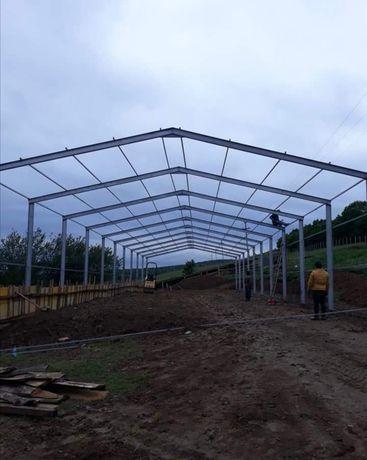 Vând și construiesc hale ferme metalice