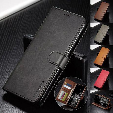 Кожен Калъф Тефтер за Samsung Galaxy S20 / S20+ / Note 10 / 10+ / 360