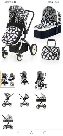 Бебешка количка 2в1 Cosatto Ooba Charleston