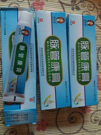 Крем за Разширени вени - китайски мощен продукт Мaiguankanggao