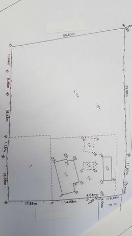 Casa cu teren de vanzare la 15 Km de Botosani (locuinta curte gradina)