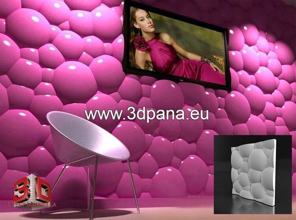 3Д ПАНЕЛИ, декоративни облицовки за стени / пана / № 0046