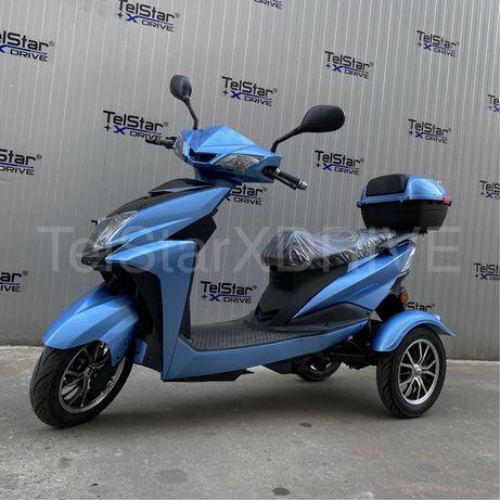 Електрическа триколка TS-350-8 60V 20AH 1000W НОВ МОДЕЛ 2020