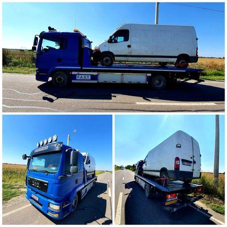 Tractari Auto Platforma Tractari Dube XXL Autostrada A1 A2