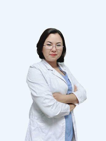 Иглотерапия в Алматы врач высшей категории, к.м.н. Аникбаева Д.А.