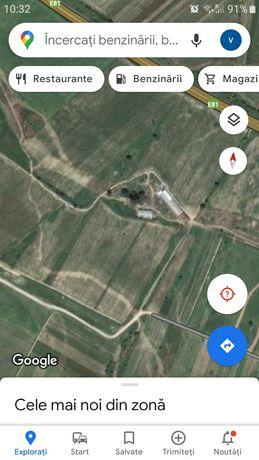 Teren autostrada A1 balastiera corsarul rosu