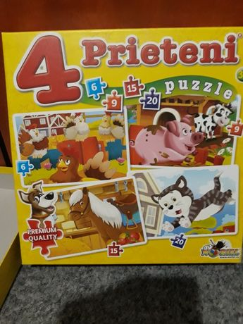 set  puzzle  copii prescolari