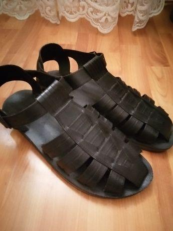 Sandale piele cămilă