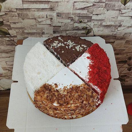 Торт на заказ и торт Микс