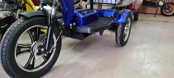 Електрическа триколка,скутер АN8 plus задно задвижване