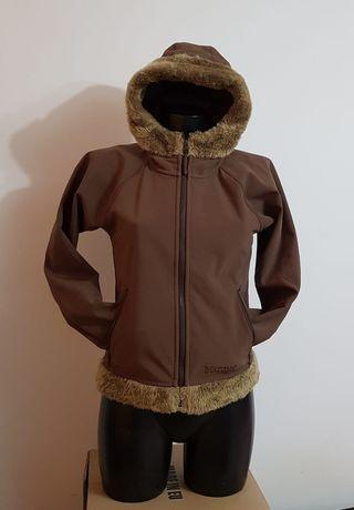 Softshell MARMOT, windstooper damă, nr S, fleece outdoor, munte, oraș