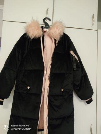 Куртка зимняя почти новая, для подростков