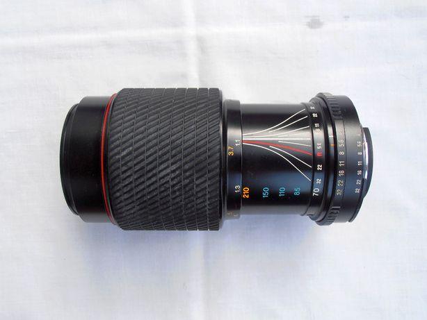 Zoom vintageTokina 70-210 baioneta Nikon