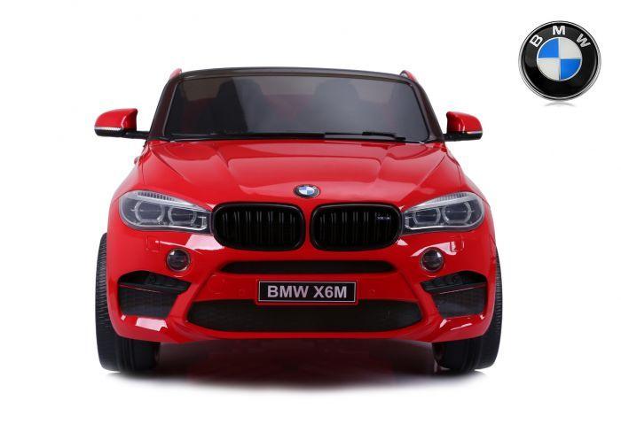 Masinuta electrica Kinderauto BMW X6M 12V XXL PREMIUM #Rosu
