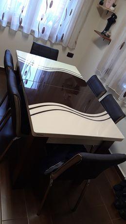 Masa+6 scaune
