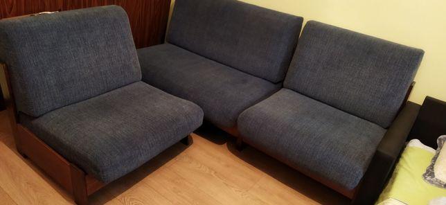 Диван и 2 кресла, раскладные