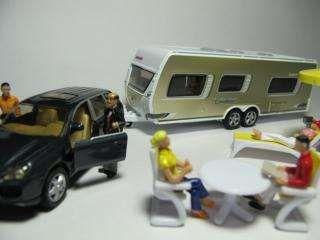 Macheta rulota remorca caravan