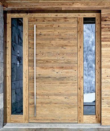 Usi de intrare din lemn stratificat