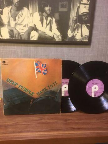 """Виниловая пластинка - Deep Purple """" Mark 1 & 2 """""""