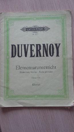 Нотни школи за пиано Hanon, Kohler, Duvernoa