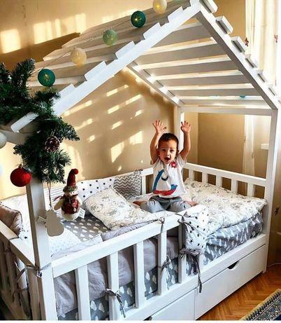 Детские домики кроватки от domiko