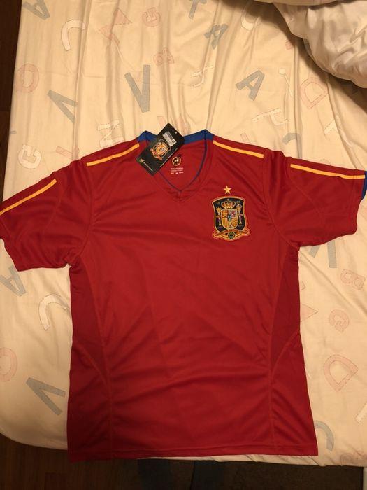 Vand/schimb Tricou oficial Nationala SPANIEI Barlad - imagine 1