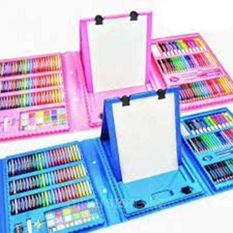 Художественный набор для рисования  208 предметов Баланы 30 мин дамыту