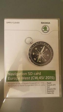 Card navigatie original Skoda