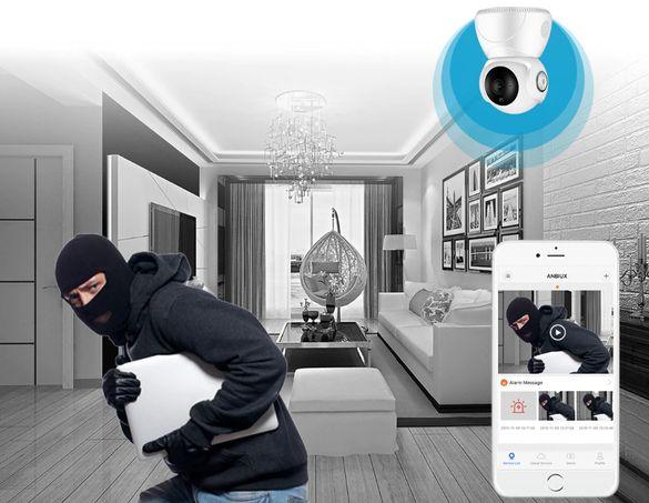 бебефон и охрана на дома с Ip camera wi-fi камера