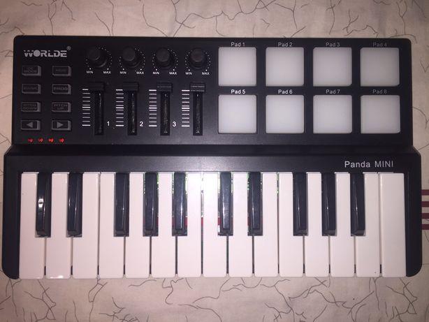Midi Клавиатура (Синтезатор) для написания музыки