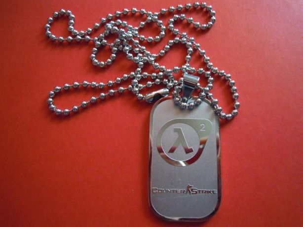 Dog Tag (DogTag) Counter Strike (Counterstrike), Half Life