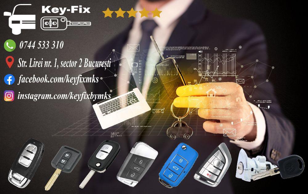 Programare chei auto| Reparatii chei si contacte auto| Deblocari auto Bucuresti - imagine 1
