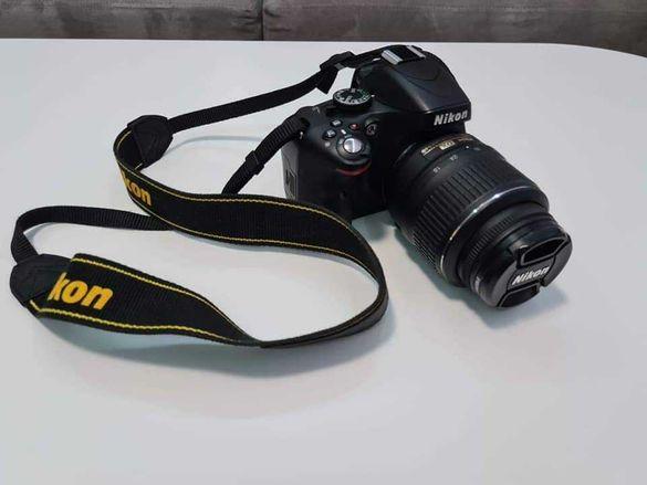 Nikon D5100 + обектив 18-55мм