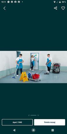 Prestez servicii de curățenie