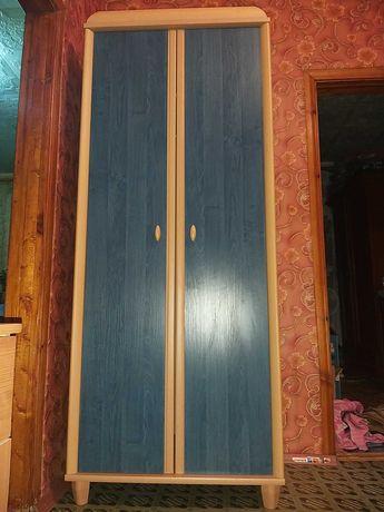 Доставка.Шкаф 2 дверн  в идеале,цвет индиго, Польша